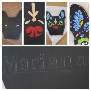 Mariano la mascota, proyecto paso a paso.