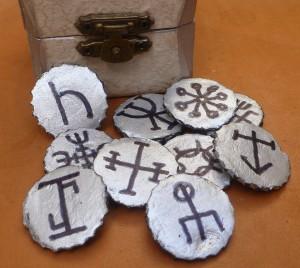 Foto de los talismanes chapa