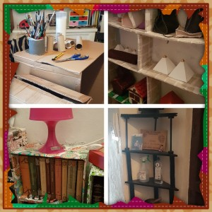 Lo importante es aprovechar el espacio de la forma más económica posible y con muebles que resistan el peso