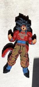 Un placer este Regalo de reyes. La elección de los colores ha sido en función al personaje de Saiyan: rojo, gris, negro, rosa, azul y verde.