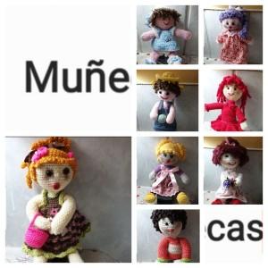 Muestrario de las muñecas de Nati